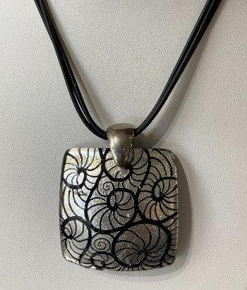 Designer murano glass pendant