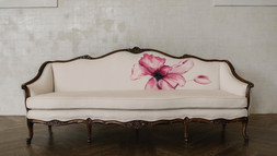 Gallery Hand-Painted Sofa