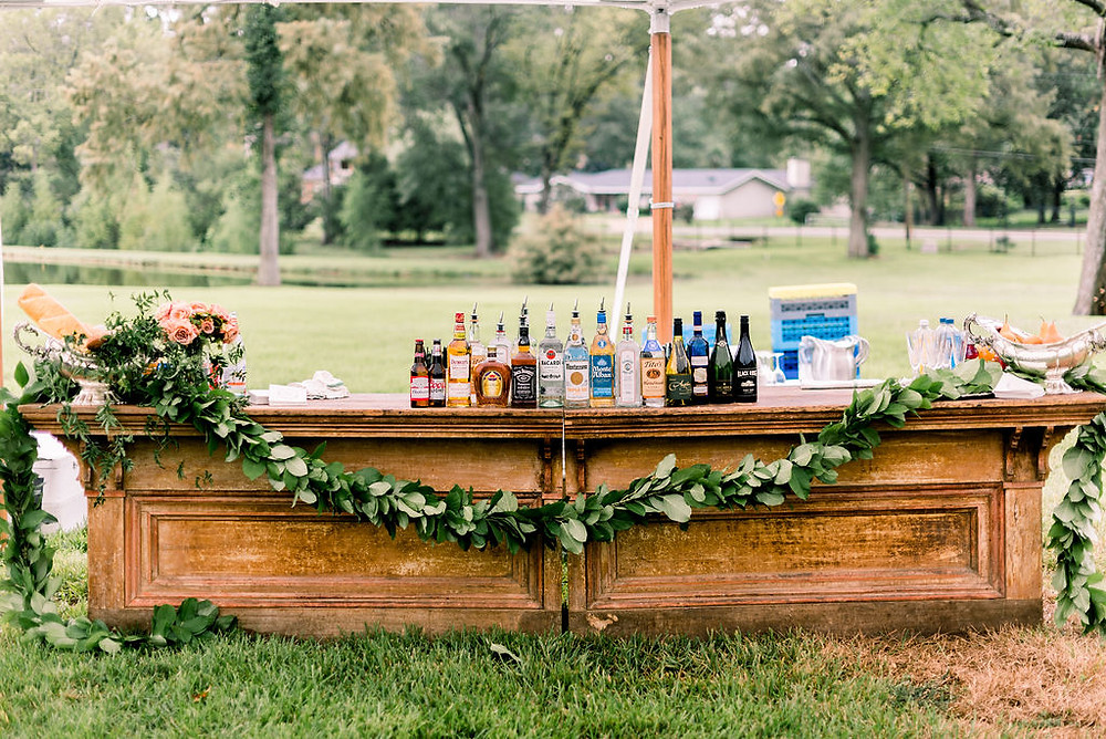 Outdoor Wooden Bar