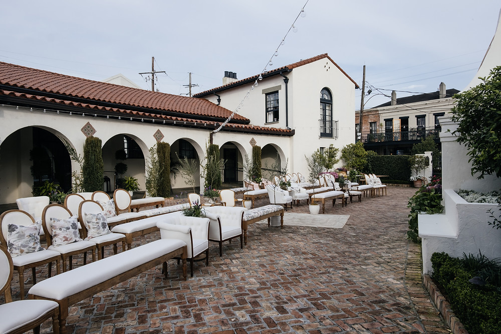 Outdoor Soft Ceremony Seating