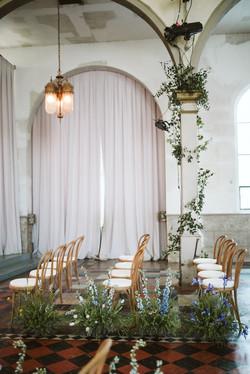 Natural Bentwood Chairs at Marigny