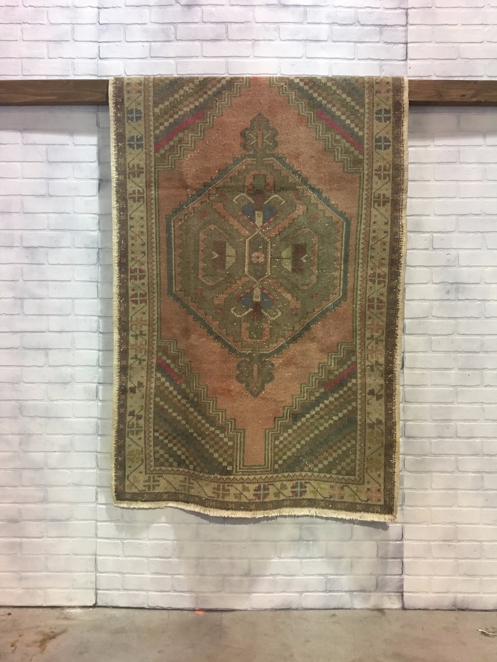 Peach Turkish Rug