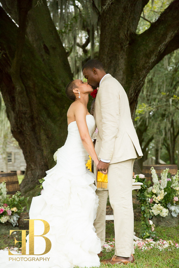 Margaree and Cleveland Ceremony, New Orleans Wedding