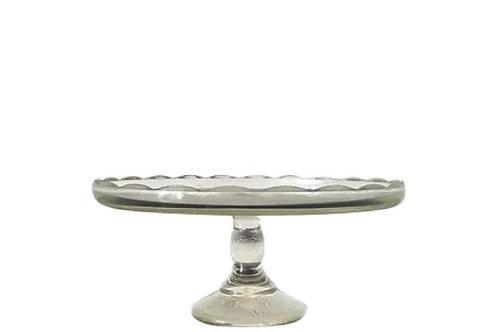 Scallop Edge Detail 9.5 Inch Cake Pedestal