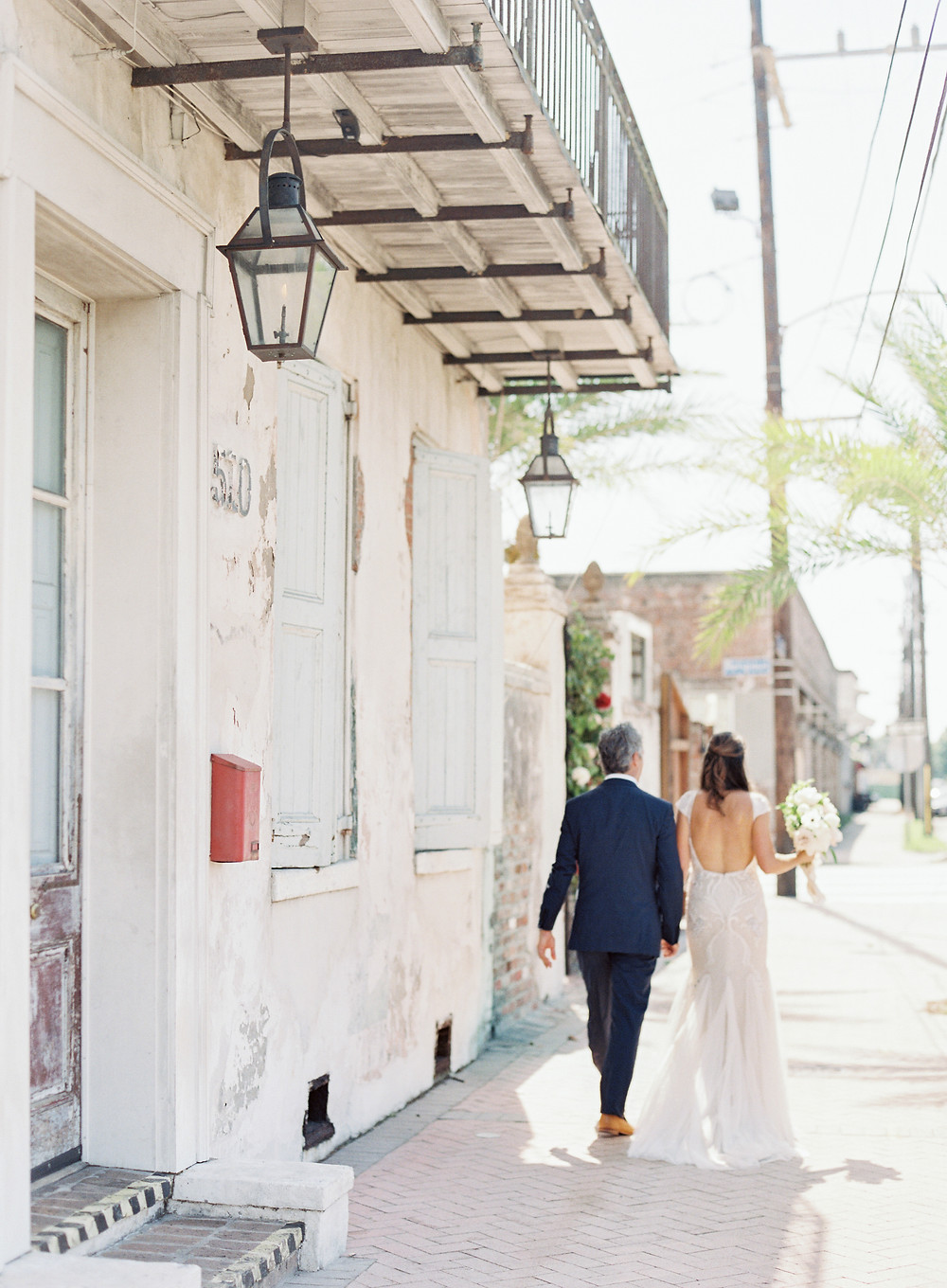 Uptown New Orleans Bride and Groom
