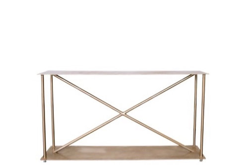 Sunset Gold Console Table