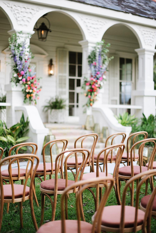 New Orleans Boho Wedding Event Rentals