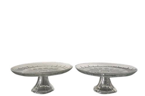 Crystal Detail 12.5 Inch Cake Pedestal