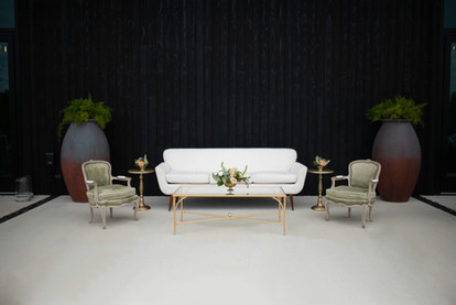 5th Avenue Sofa + French Mist Chairs