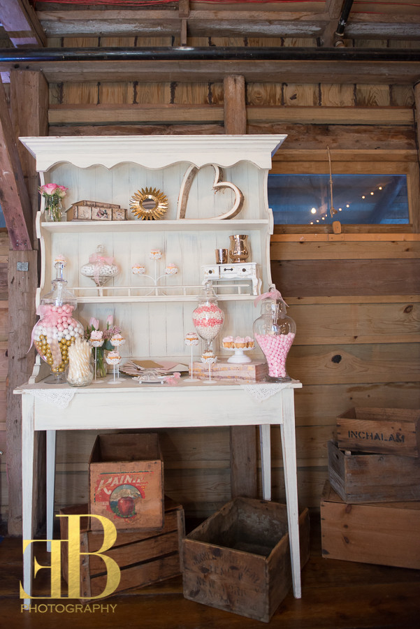 Dessert Station Lauren Hutch Barn Wedding