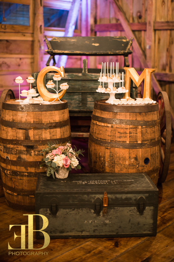 Whiskey Wine Barrels Destrehan New Orleans Wedding