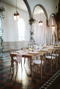 Marigny Opera House Woodland Tables