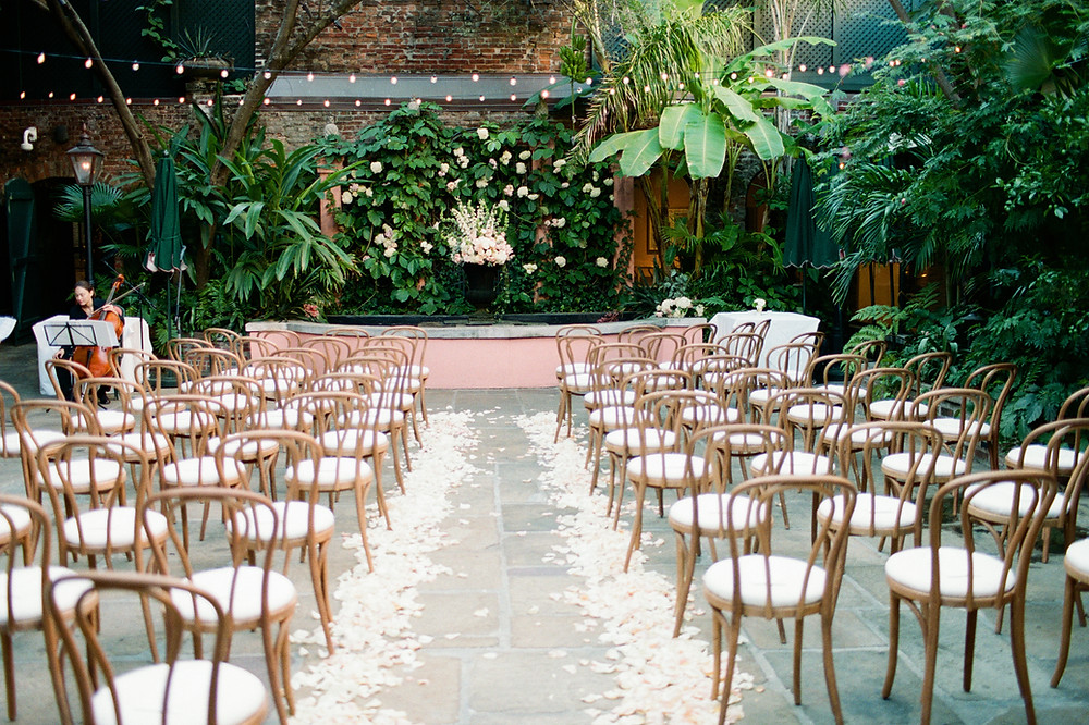 Natural Bentwood Ceremony Chairs