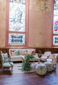 Clara + Floral Lounge
