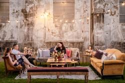 Outdoor Marigny Opera House Lounge