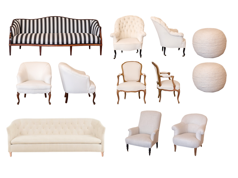 Neutral Soft Seating Collection New Orleans