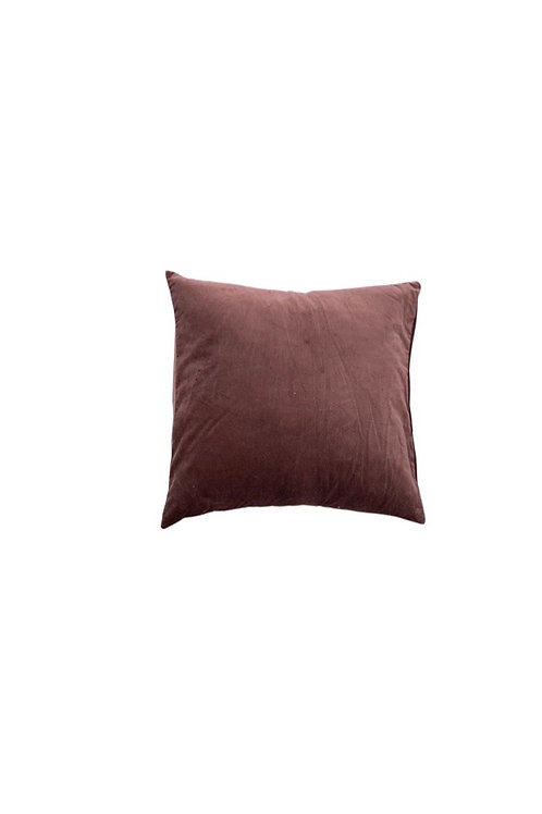 Purple Brown Floor Pillow