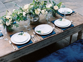 Blue Hues Wedding Inspiration
