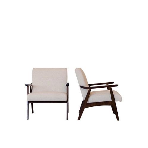 Mod Linen Chairs