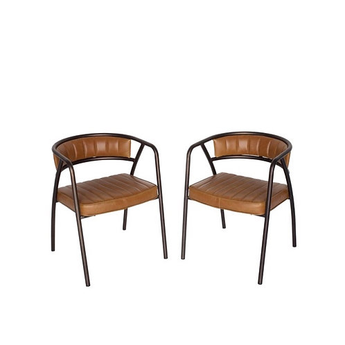 Leather Library Chairs