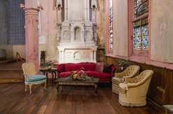 Valentina Sofa + Tassel Chairs + Amelia Chair