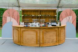 Round Bar + Holmes Cabinet Art Vibes