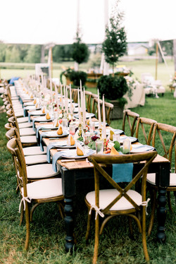 Outdoor Seated Dinner