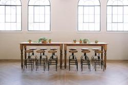 Steelwood Barstools + Tahoe Table Seating