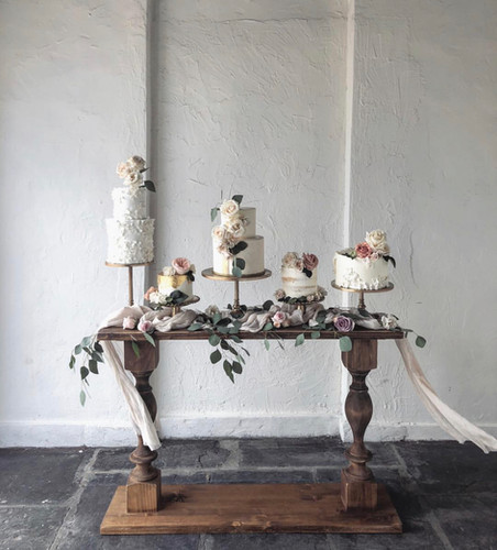 Wedding Cake Console Table