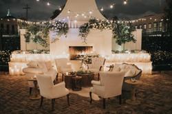 Neutral Fireplace Lounge Il Mercato
