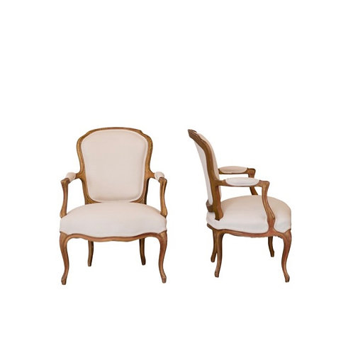 French Canvas Chairs