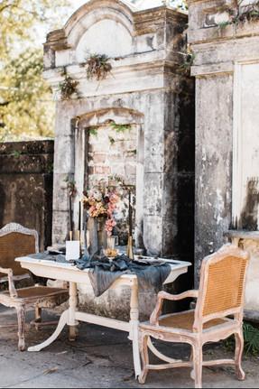 New Orleans Graveyard Wedding Inspo