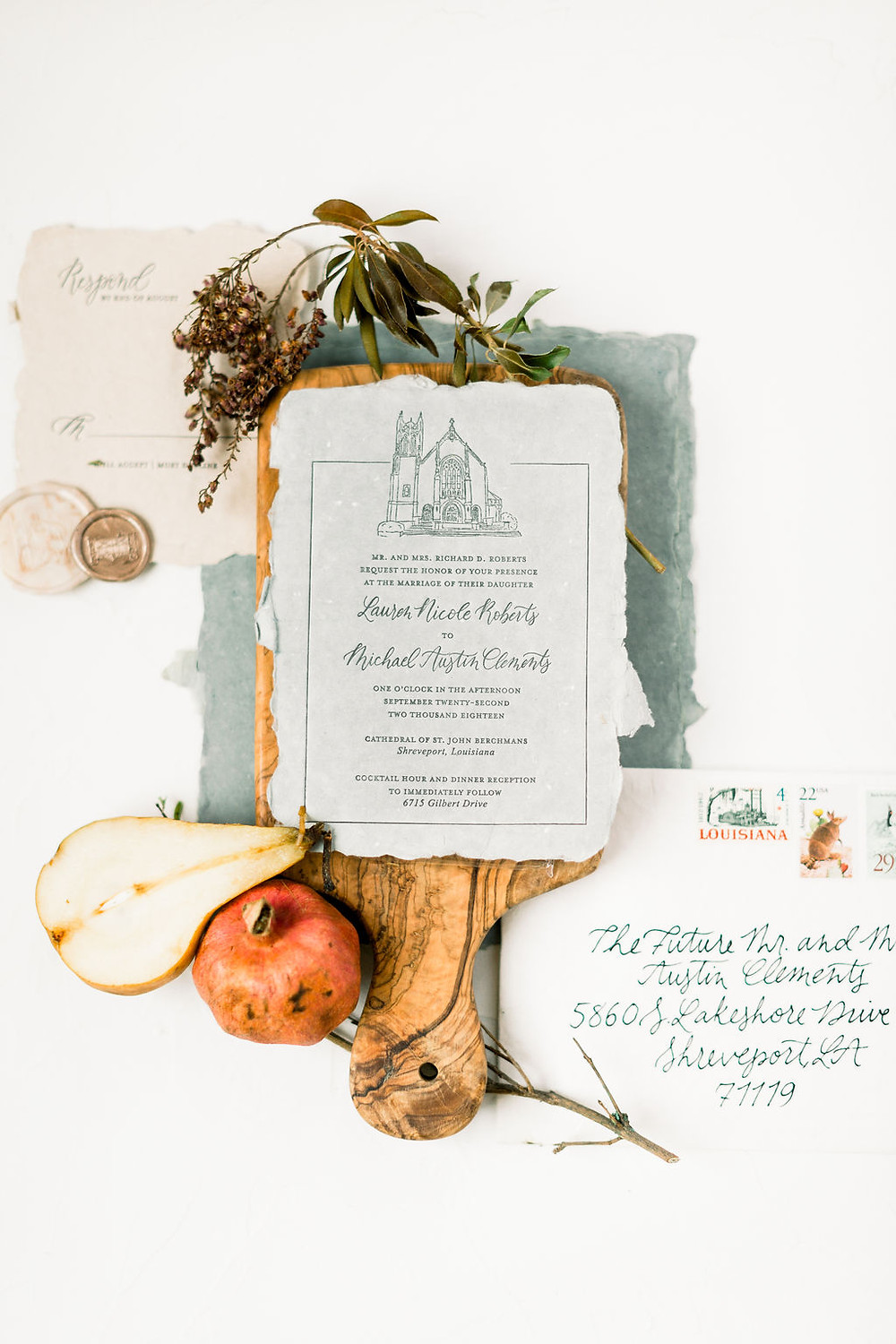 New Orleans Wedding Invitations