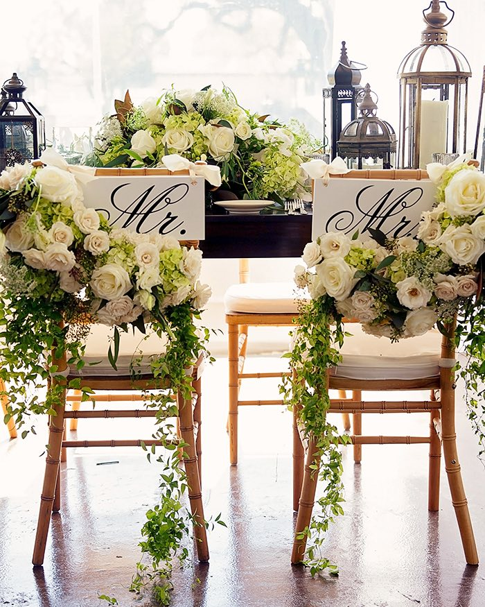 Farm Table for Glam Wedding