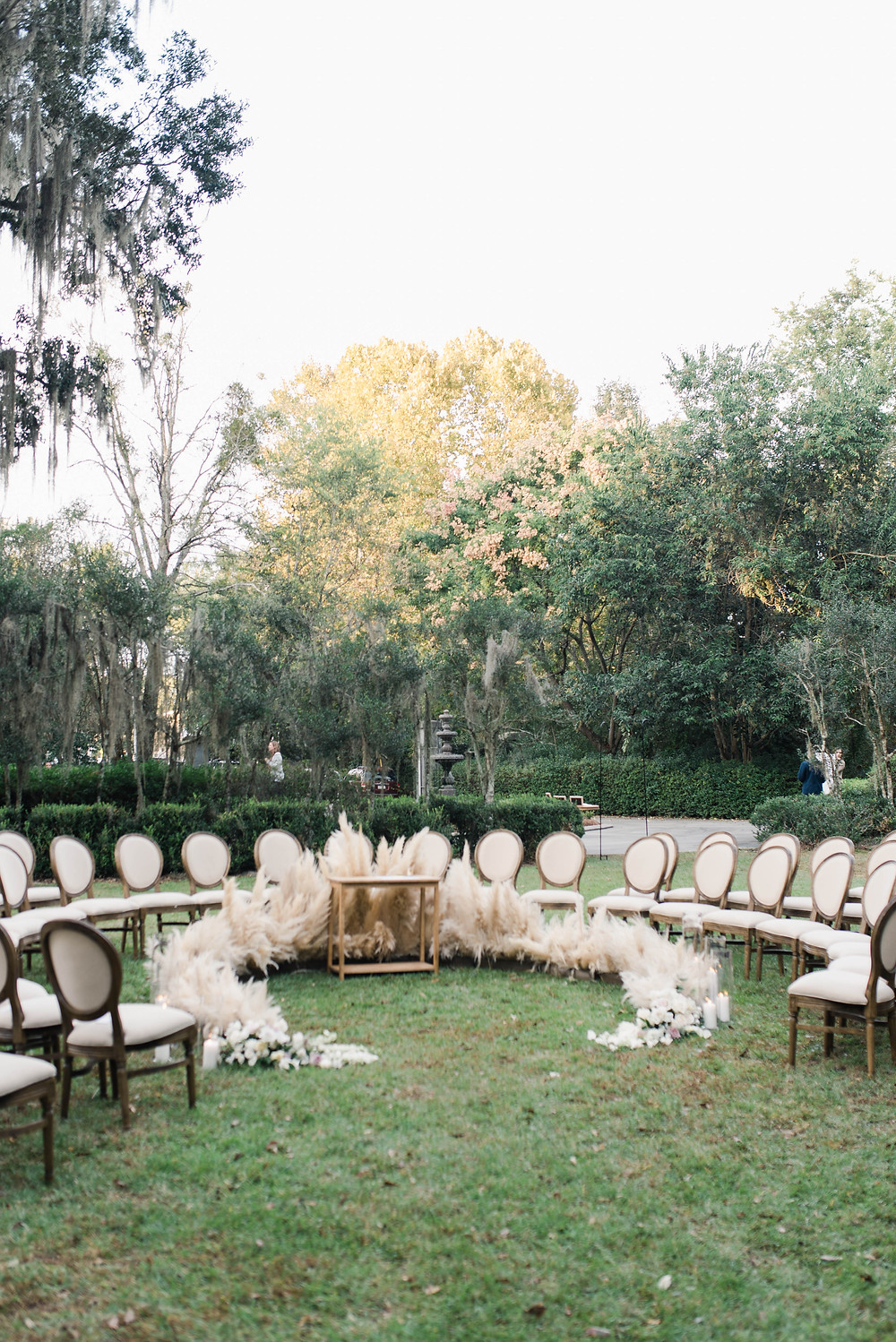Wedding Ceremony Seating Louisiana