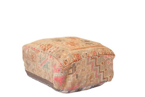 Gold Turkish Floor Pillow