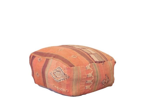 Peach Turkish Floor Pillow