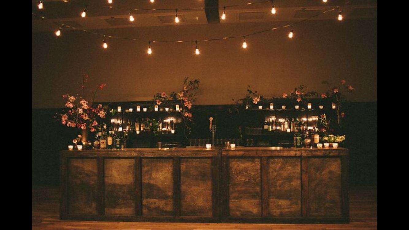 Bourbon Wood Bar
