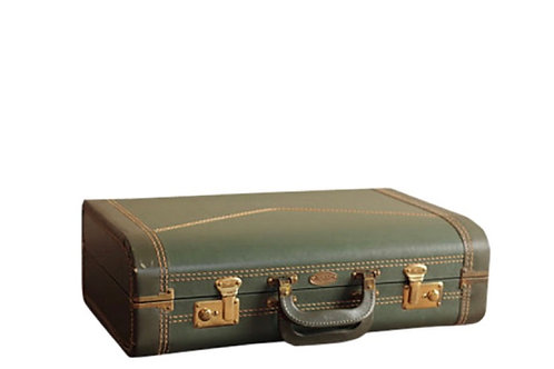 Olive Green Suitcase