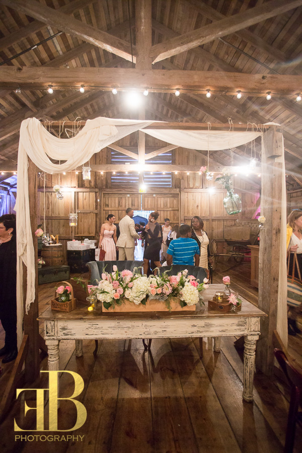 Sweetheart French Farm Table with Rustic Arbor, New Orleans Wedding