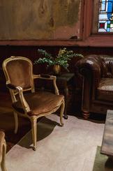 Scarlet Chairs + Hemingway Leather Sofa