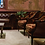 Thumbnail: Brandy Leather Backed Chairs