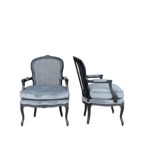 Black Cane Chairs