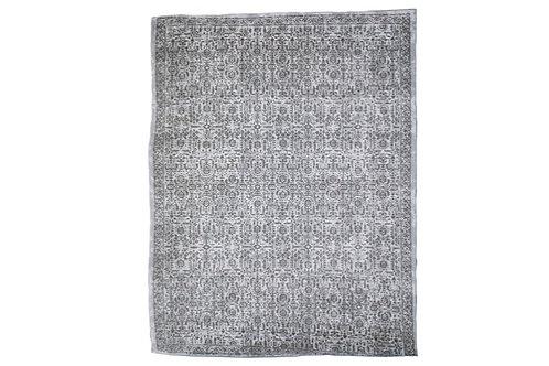 Indigo Patterned Rug