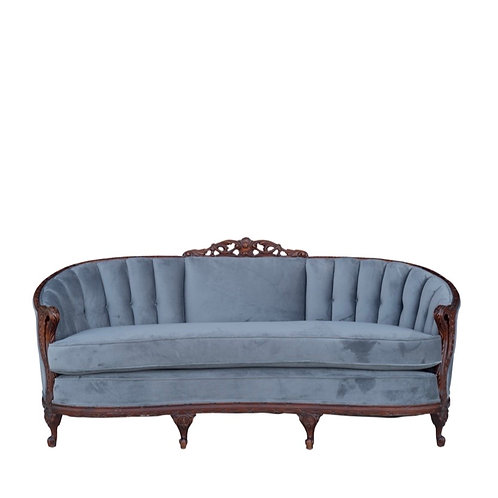 Smoky Blue Sofa
