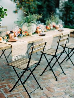 Industrial Tables at Il Mercato