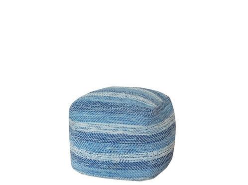 Blue Ocean Pouf