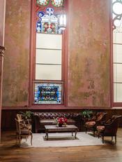 Hemingway Sofa + Scarlet Chairs + Brandy Chairs