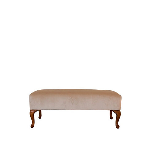 Queen Anne Oatmeal Bench