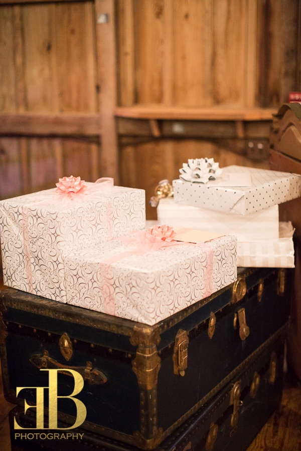 Gift Table Vintage Trunks Destrehan Wedding New Orleans